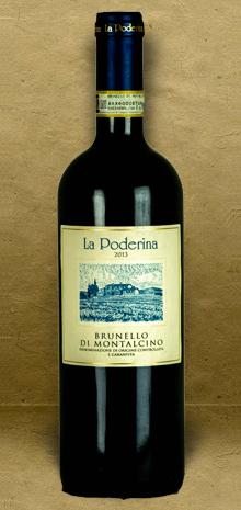 La Poderina Brunello di Montalcino DOCG 2013 Red Wine