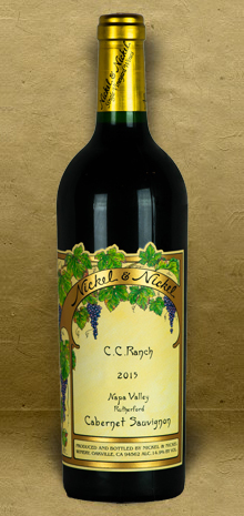 "Nickel and Nickel ""CC Ranch"" Cabernet Sauvignon 2015 Red Wine"