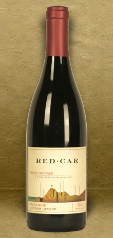 Red Car Estate Vineyard Fort Ross-Seaview Pinot Noir 2013 Red Wine