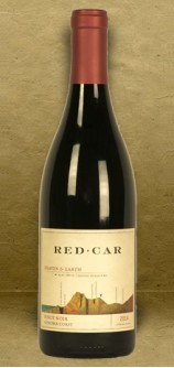 "Red Car ""Heaven and Earth"" Bohemian Station Pinot Noir 2014 Red Wine"