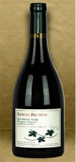 Saxon Brown Ferrington Vineyard Pinot Noir 2013 Red Wine