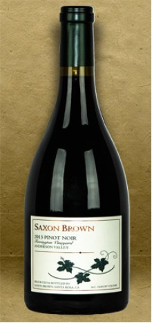 Saxon Brown Ferrington Vineyard Pinot Noir 2013 Red Wine