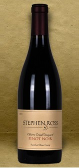 Stephen Ross Chorro Creek Vineyard Pinot Noir 2013 Red Wine