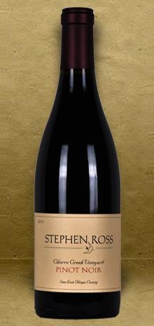 Stephen Ross Chorro Creek Vineyard Pinot Noir 2013 Red Wine