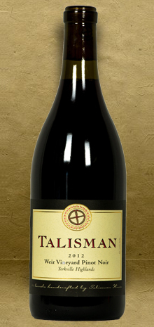 Talisman Weir Vineyard Pinot Noir 2012 Red Wine