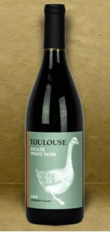 Toulouse Vineyards Estate Pinot Noir 2014 Red Wine