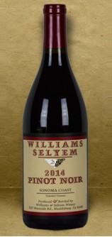 Williams Selyem Sonoma Coast Pinot Noir 2014 Red Wine