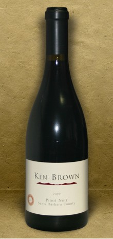 Ken Brown Santa Barbara County 2009 Pinot Noir Red Wine